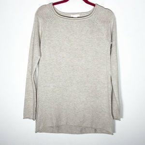H&M Basics Sweater Womens XS Beige Cream